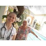 clínica de repouso para idoso com médico Castelo
