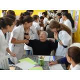 onde encontro pousada para idoso com médico Chácara da Barra